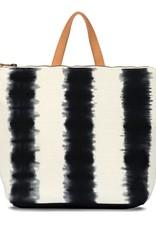 backpack black hand-dye