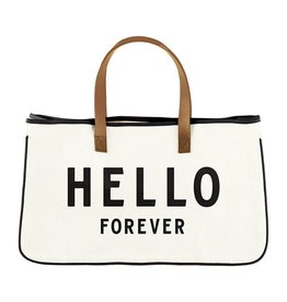 Creative Brands CANVAS TOTE - HELLO FOREVER