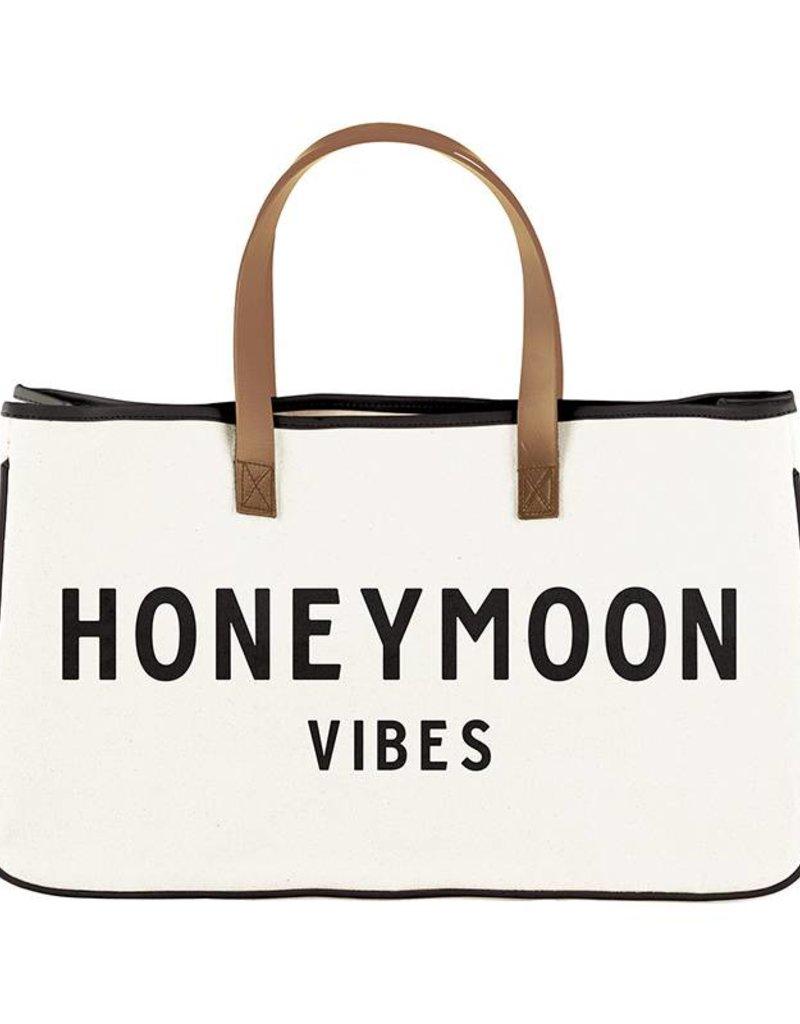 Creative Brands CANVAS TOTE - HONEYMOON VIBES