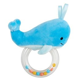 Creative Brands WHALE RATTLE TEETHER