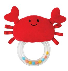 Creative Brands CRAB RATTLE TEETHER