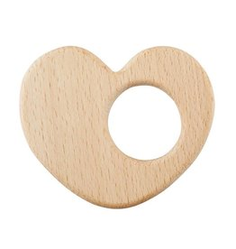 Creative Brands HEIRLOOM HEART WOOD TEETHER