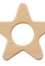 Creative Brands HEIRLOOMED STAR WOOD TEETHER