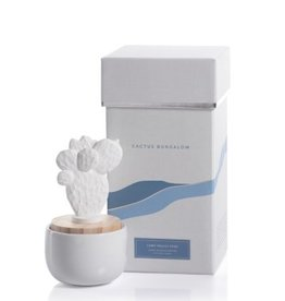 Zodax Porcelain Diffuser, Cactus Bugalow Prickly Pear