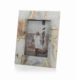 Zodax Preto Agate Photo Frame 5X7
