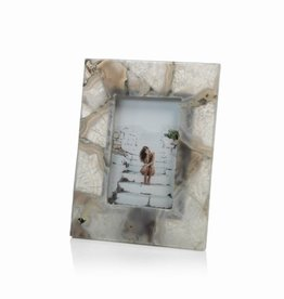 Zodax Preto Agate Photo Frame