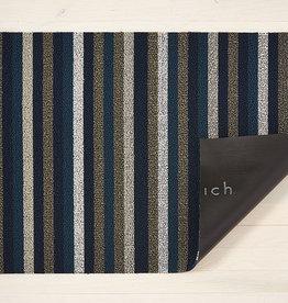 Chilewich Even Stripe Shag Utility 24X36-MARINE