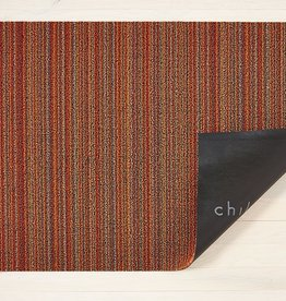 Chilewich Skinny Strip Shag Big Mat36x60-ORANGE