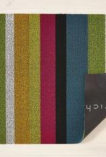 Chilewich Bold Stripe Shag Utility 24x36-MULTI