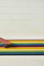 Chilewich Bold Stripe Shag Big Mat 36x60-MULTI