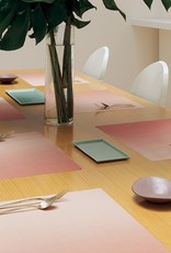 Chilewich Glow Tablemat 13.5x 18.5 GUAVA
