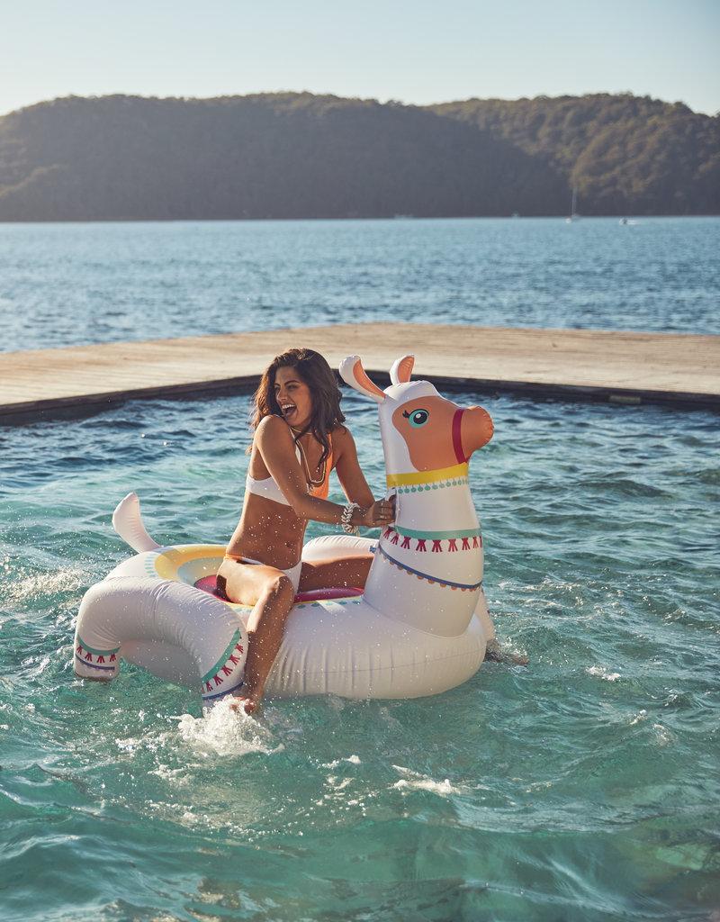 Sunnylife Luxe Ride-On Float Llama
