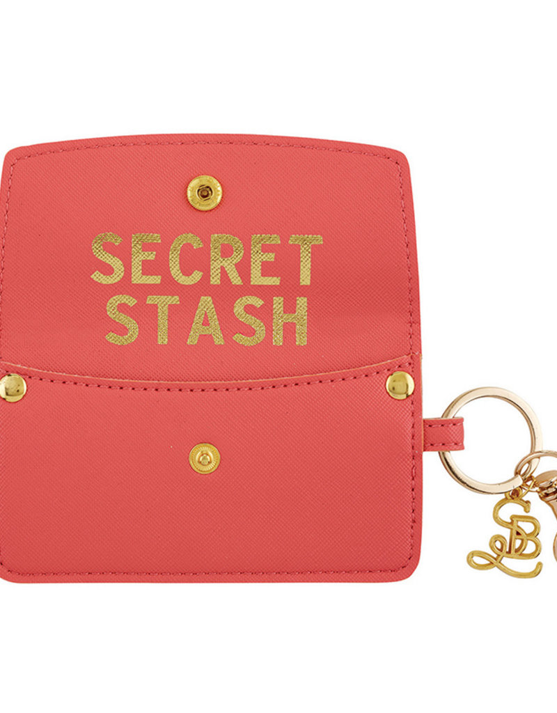 Creative Brands CREDIT CARD POUCH-CORAL