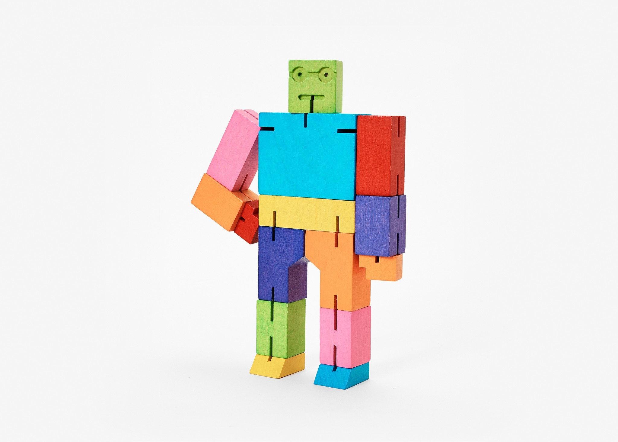 Areaware Cubebot Medium (multi)