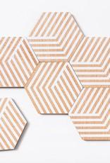 Areaware Table Tiles (optic white)