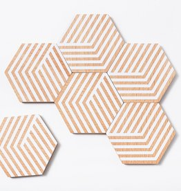 Areaware Table Tiles (optic white)