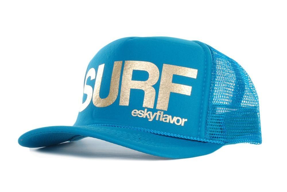 EskyFlavor SURF turq/Gold Hat