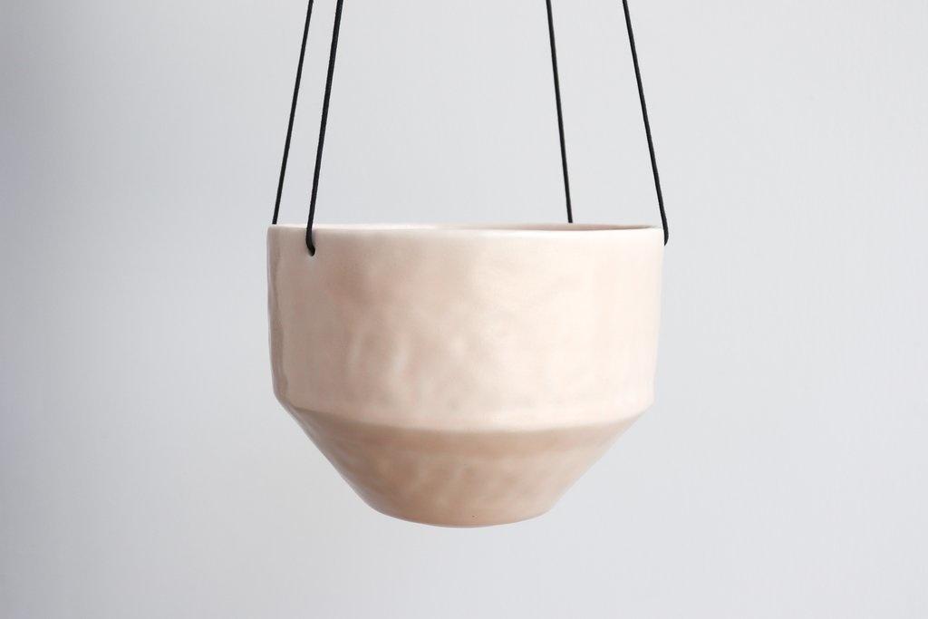 Benotti Round Pinched Hanging Planter - Medium:Summer Sweet
