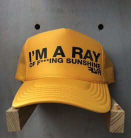 EskyFlavor I'm A Ray of Sunshine Hat Gold Black