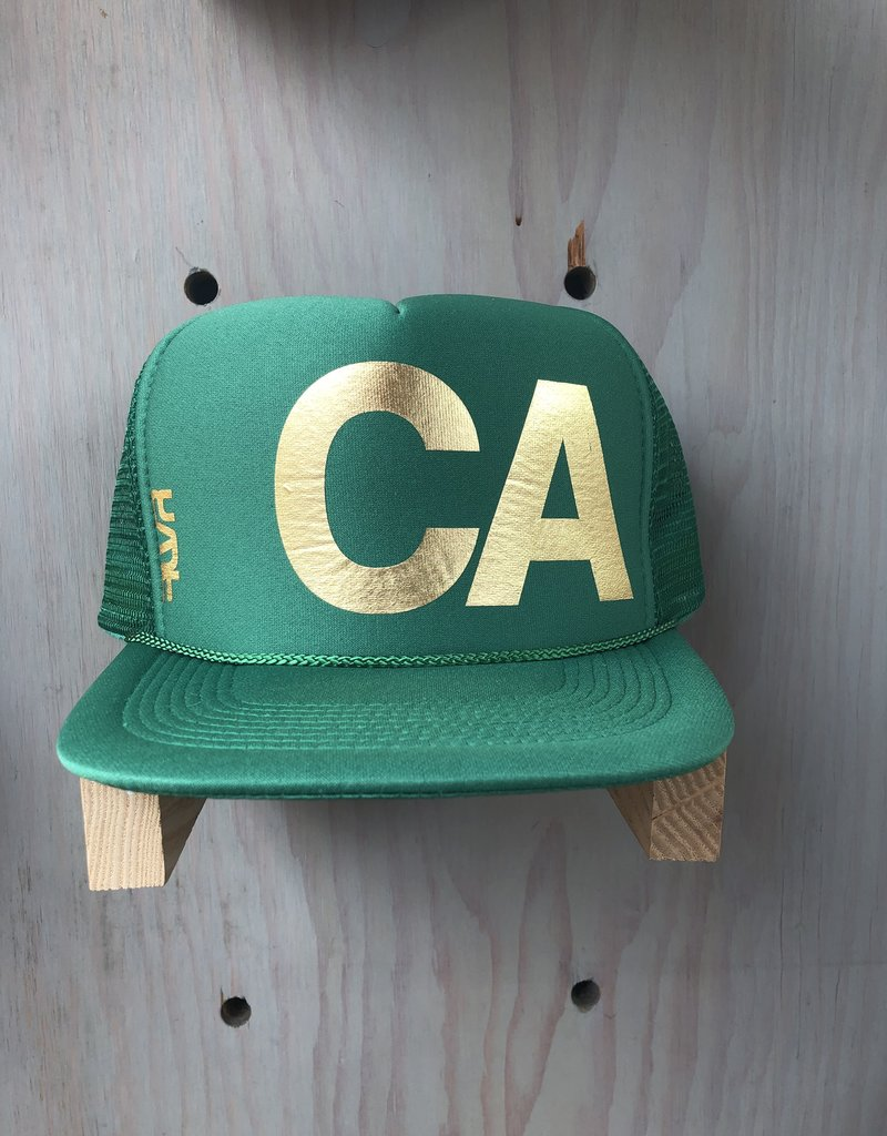 EskyFlavor CA DarkGreen/Gold Hat