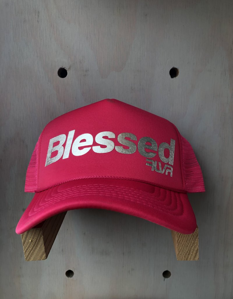 EskyFlavor Blessed Hat Hot Pink Silver