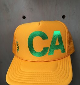 EskyFlavor CA Hat Green Gold