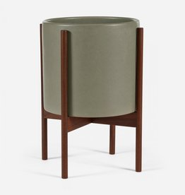 Modernica Large Cylinder w. Wood Stand - Pebble