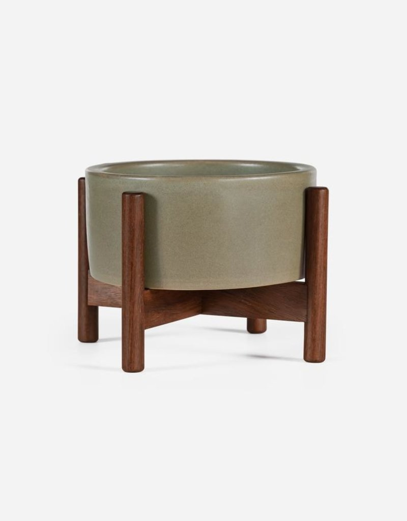 Modernica Desk Top Cylinder w. Wood Stand Pebble