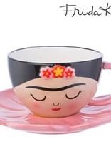 sass & belle XDC315FRIDA CUP AND FLOWER SAUCER SET