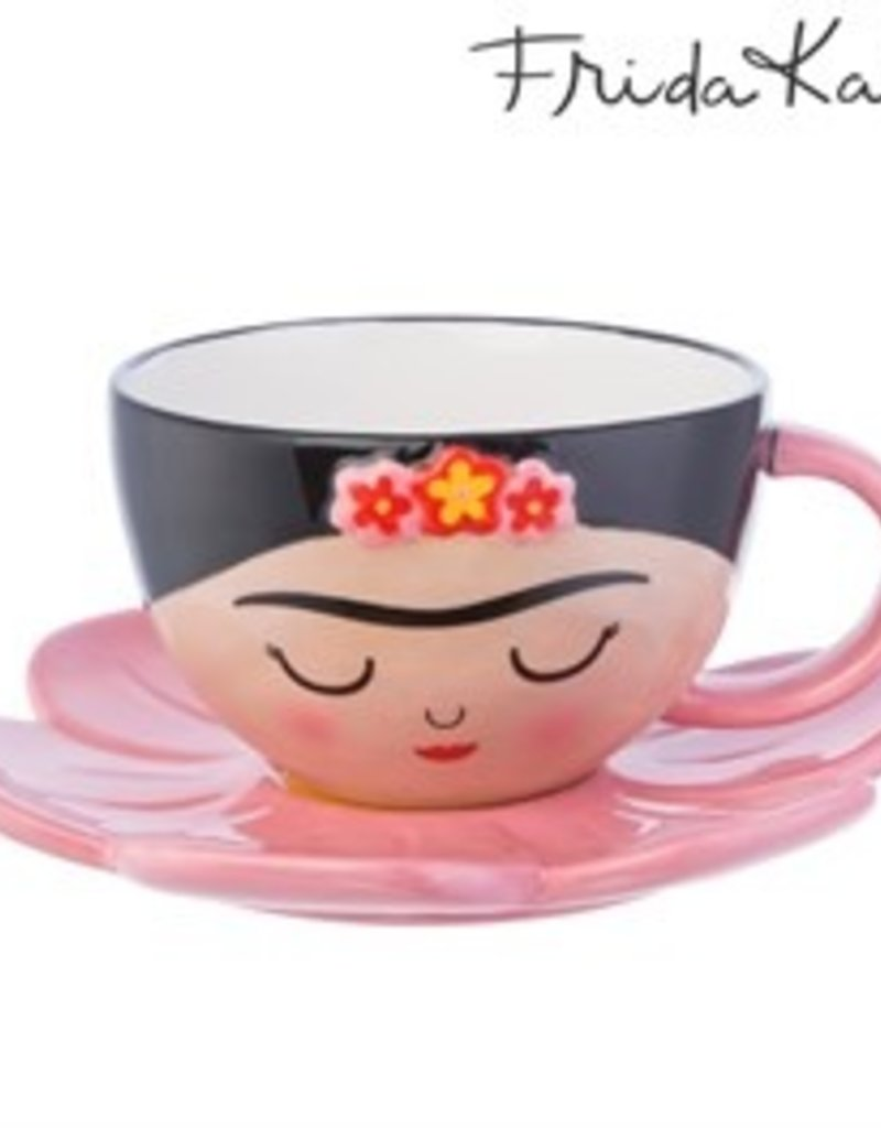 sass & belle XDC315FRIDA CUP AND FLOWER SAUCER SET