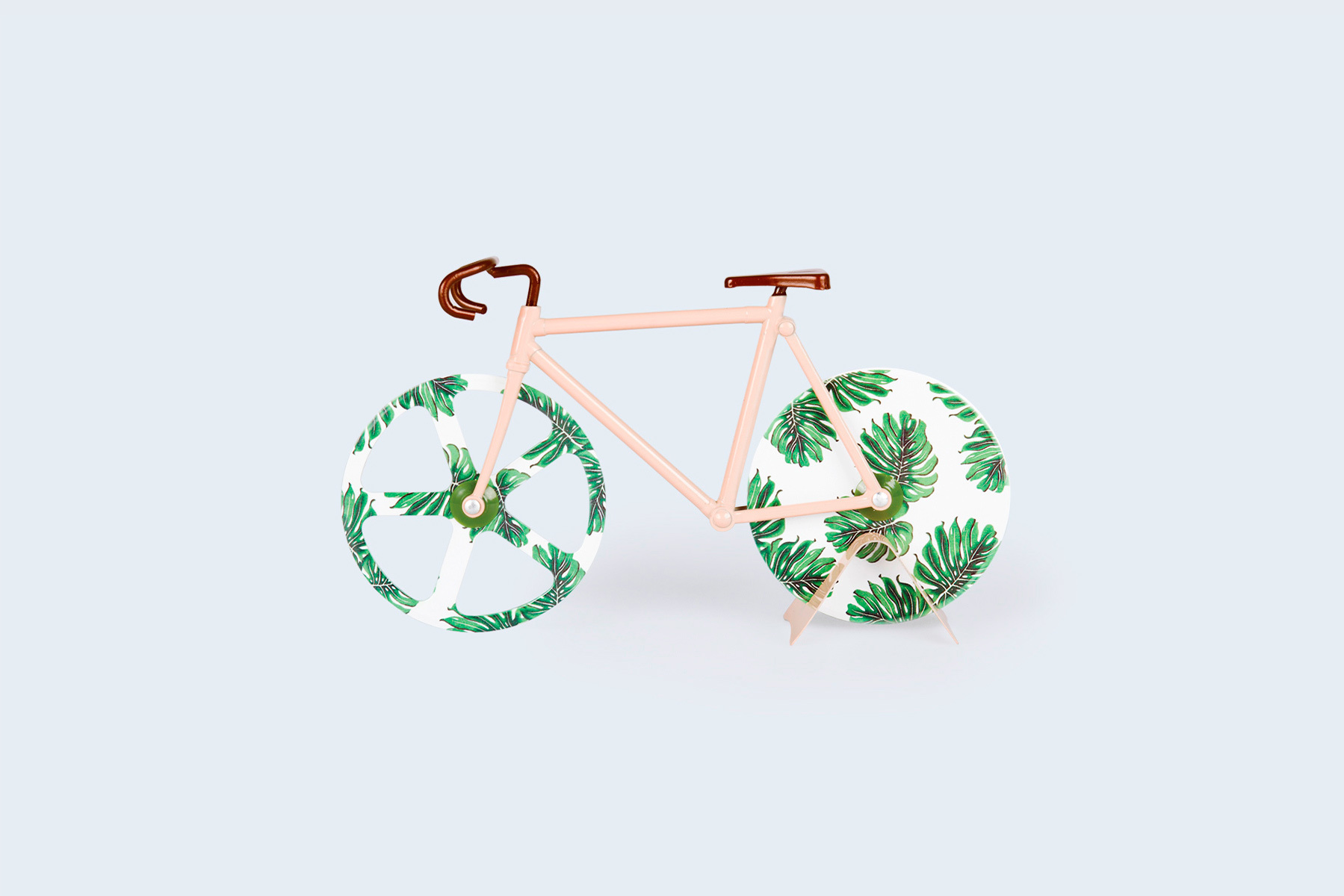 The Fixie Tropical Vintage Pizza Cutter
