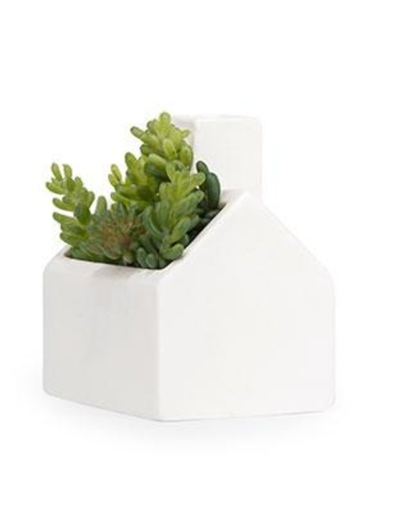 kikkerland COZY COTTAGE PLANTER