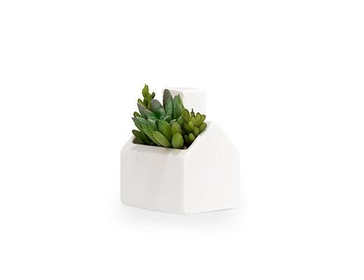 kikkerland MINI COZY COTTAGE PLANTER