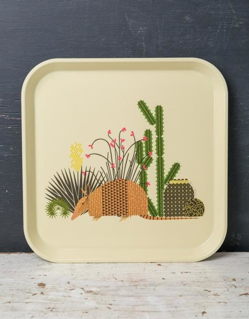 "CH CACTUS TRAY 13"" SQUARE"