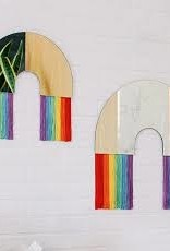 Rainbow Wall Mirror  Medium