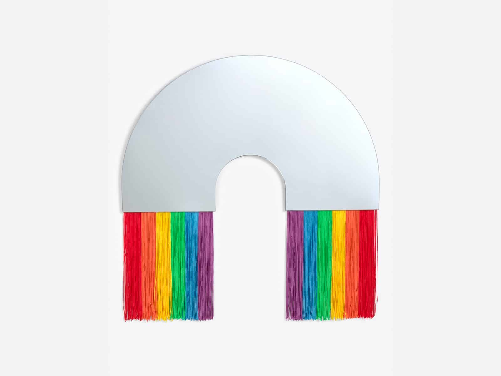Rainbow Wall Mirror