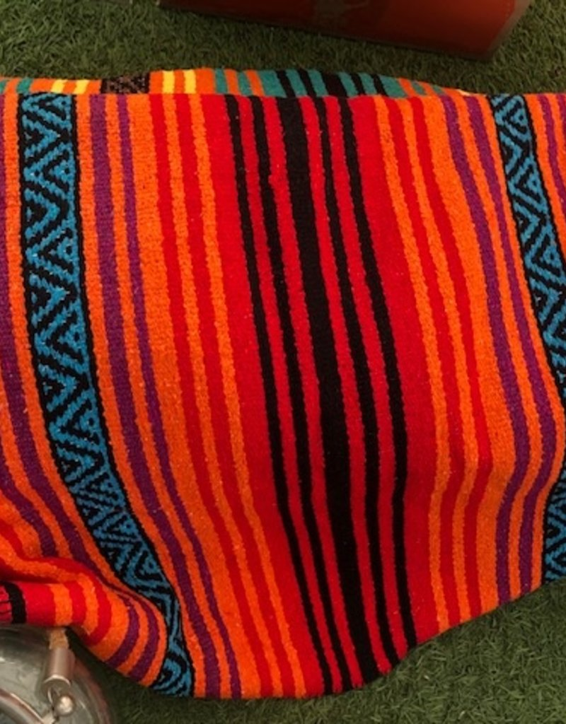 """Sherpa Backed Mexican Blanket 70x40""""Large"""