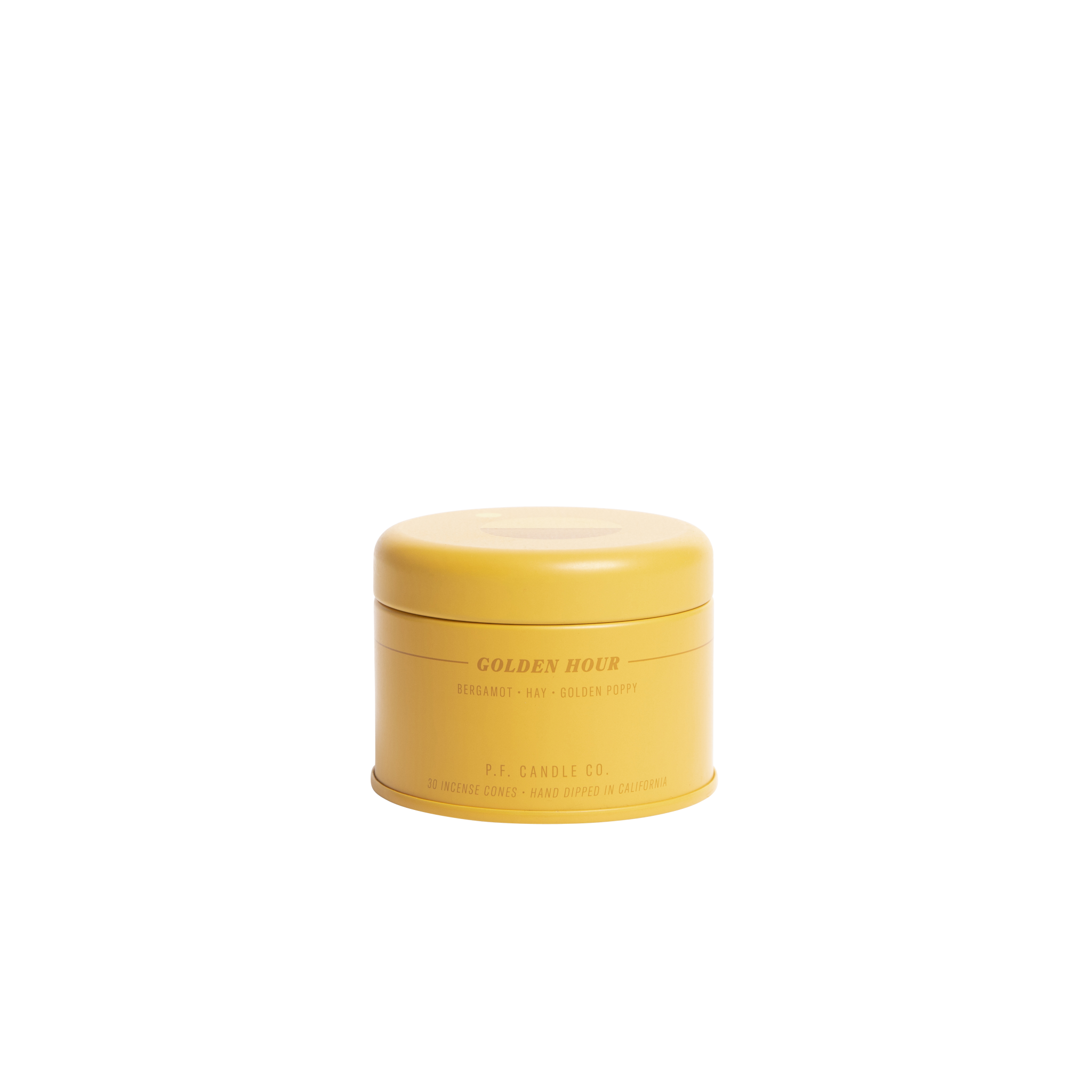 P.F.Candle golden hour - SUNSET INCENSE CONES