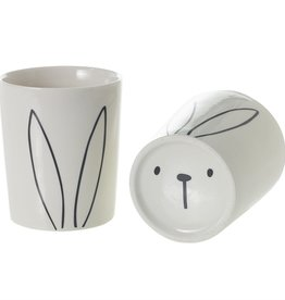 "Bunny Pot 3.25""x 3.75"""