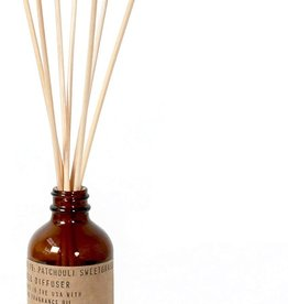P.F.Candle Patchouli Sweetgrass - 3.5 oz Reed Diffuser