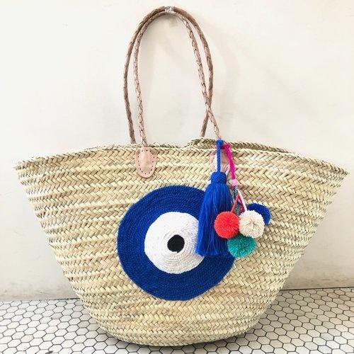 Basket Gods Eye Dark Blue