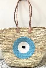 Basket Gods Eye Light Blue