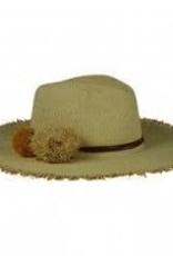 Beachy Hat Natural Natural Gold