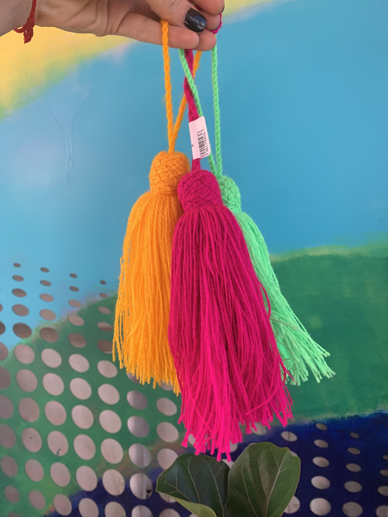 Tassels Assorted colors