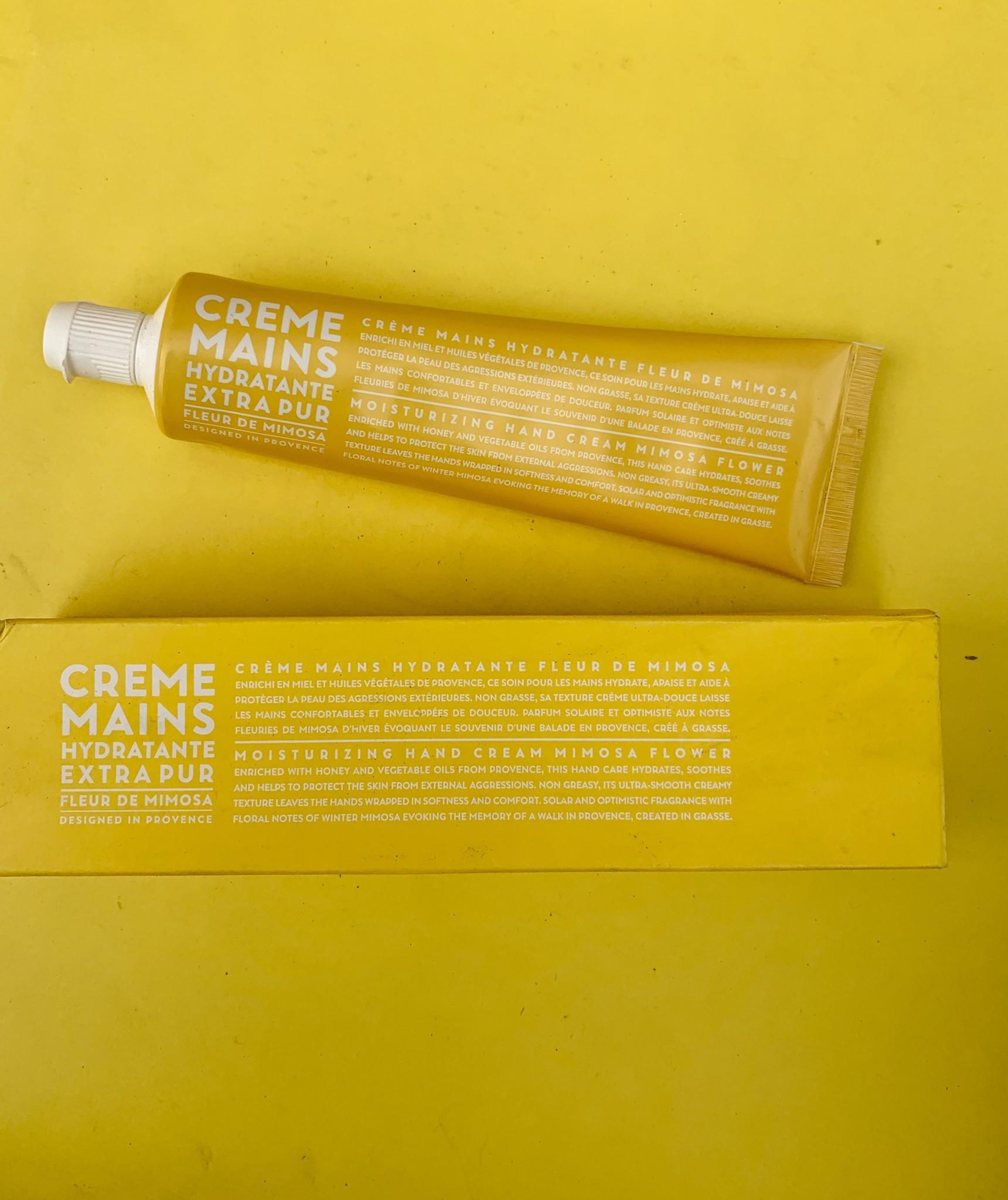 Compagnie de Provence Hand Cream Mimosa Flower 3.4 fl oz Tube