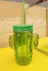 52016-20 Cactus Mason Jar A/2 Colors