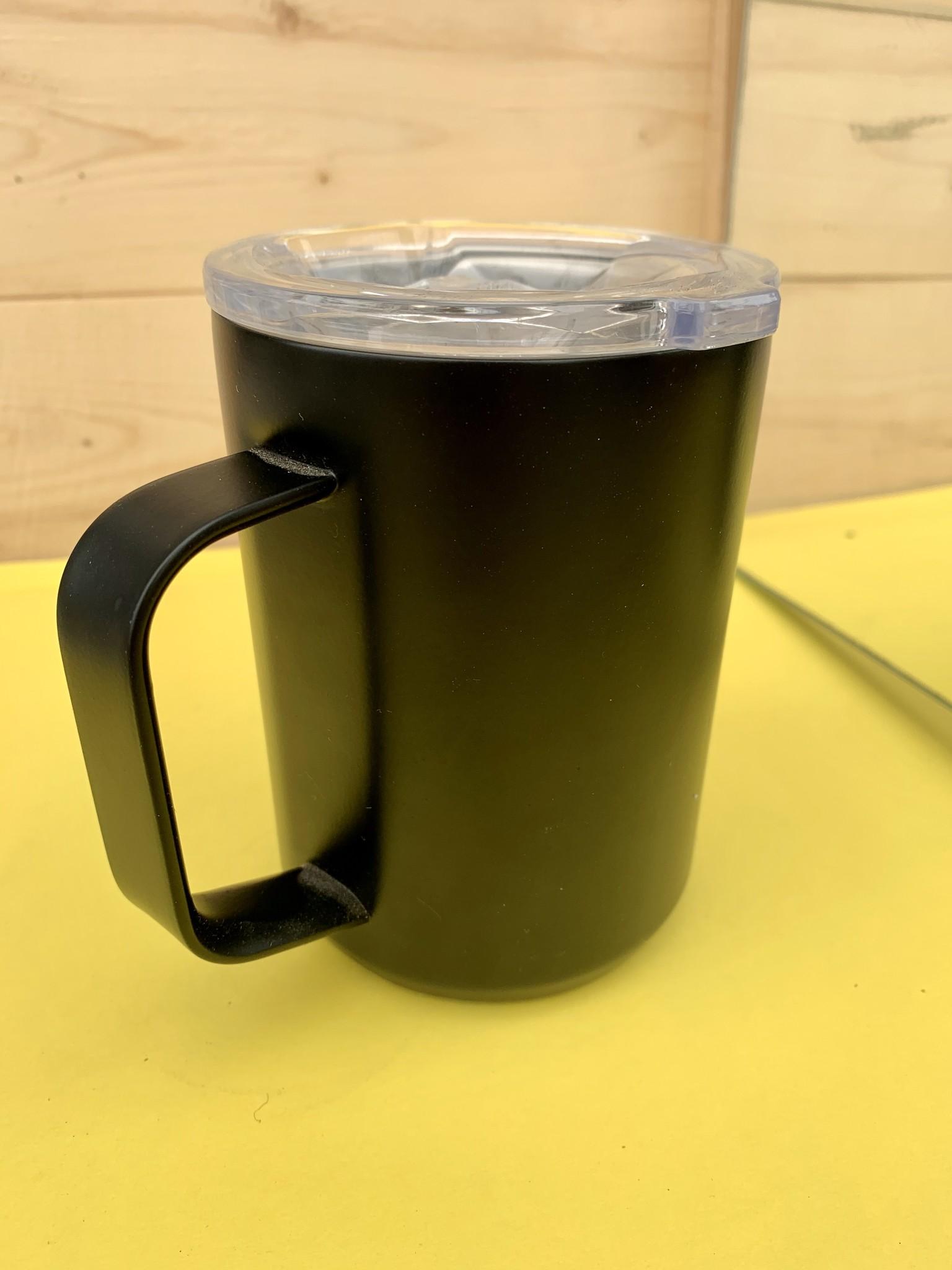 corkcicle 16oz Mug Black