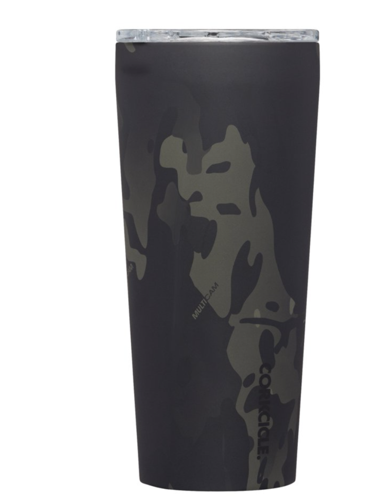 corkcicle 24oz Tumbler Camo Black