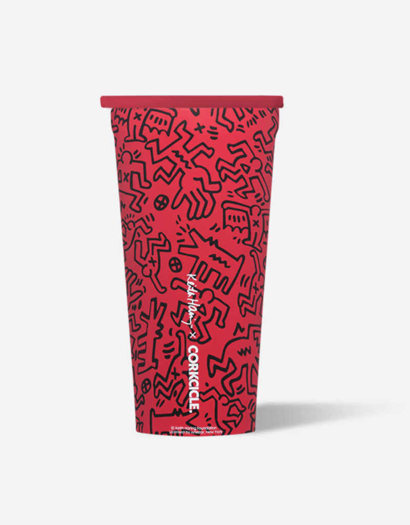 Tumbler - 16oz - Keith Haring - People Stack