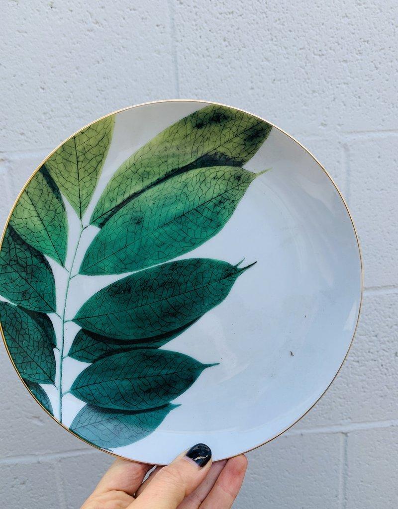 Jet Setter Plate Botanical